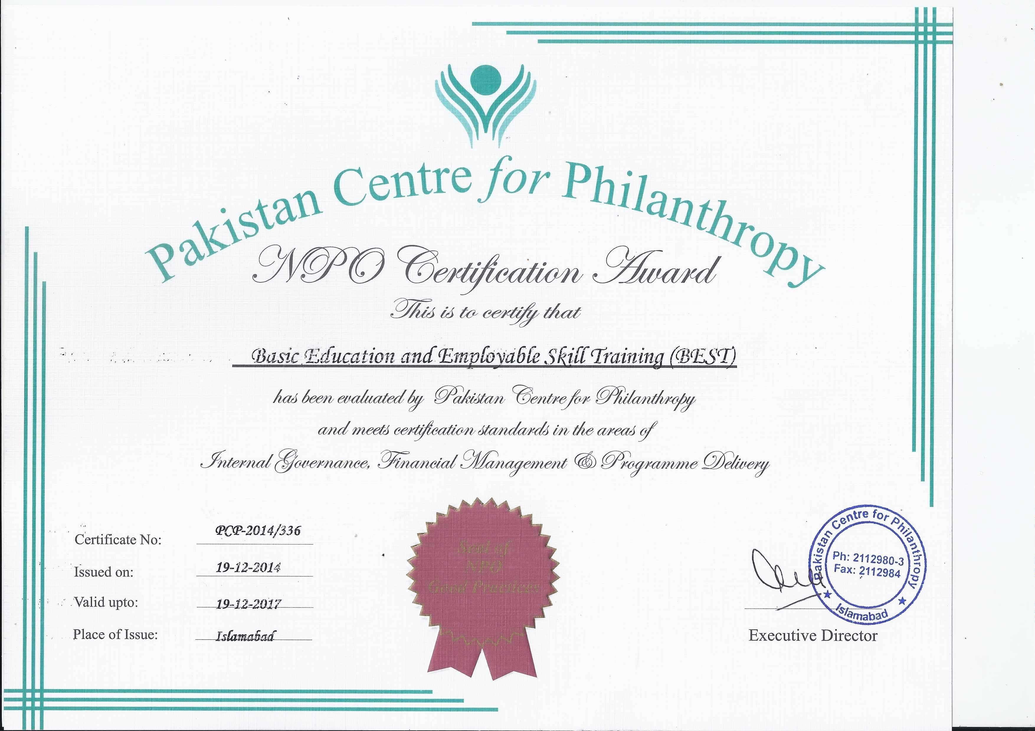 Pakistan-center-for-Philanthropy-Certificate